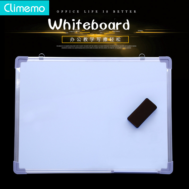 Climemo Whiteboard,Whiteboard Office Teaching Blackboard Office Conference Notice Board  Dry Erase  Dry Erase Board  Wall Board