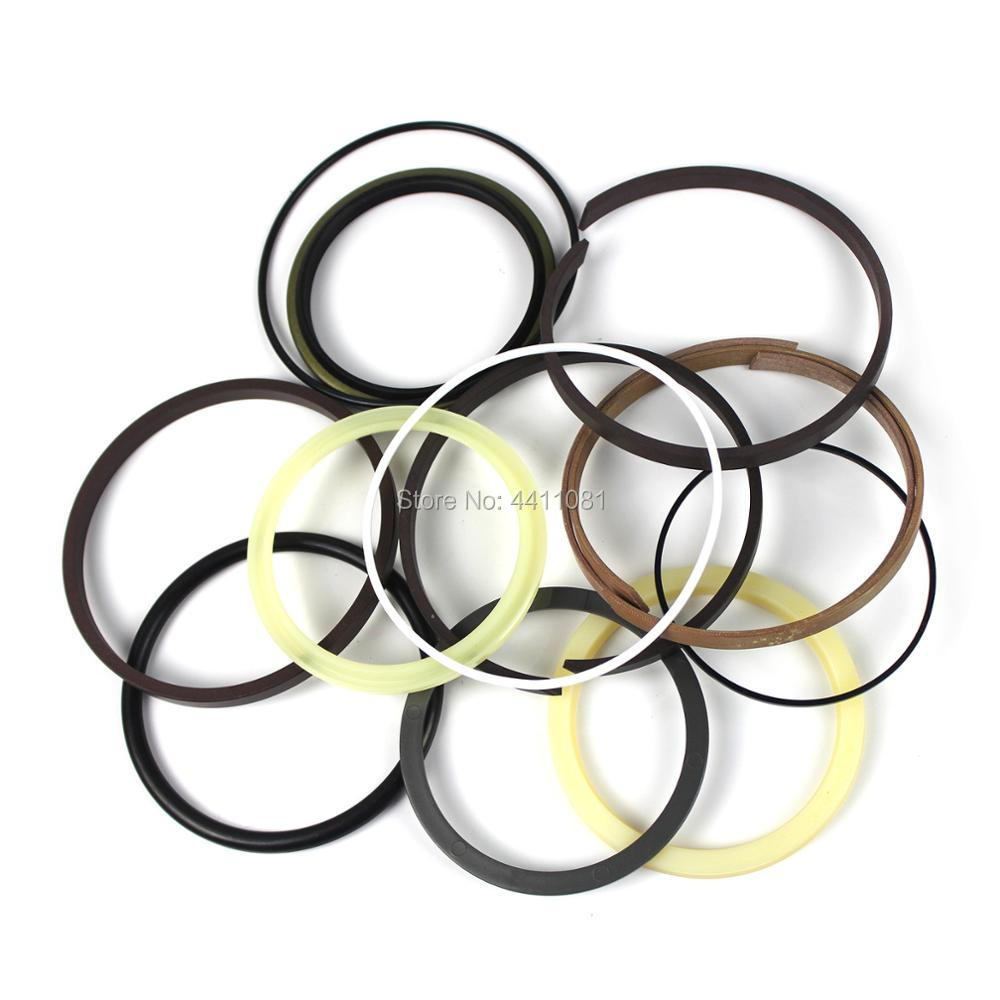 For Hitachi ZAX200-6 Bucket Cylinder Seal Repair Service Kit Excavator Oil Seals, 3 month warranty for hitachi ex400 5 bucket cylinder seal repair service kit 4255532 excavator oil seals 3 month warranty