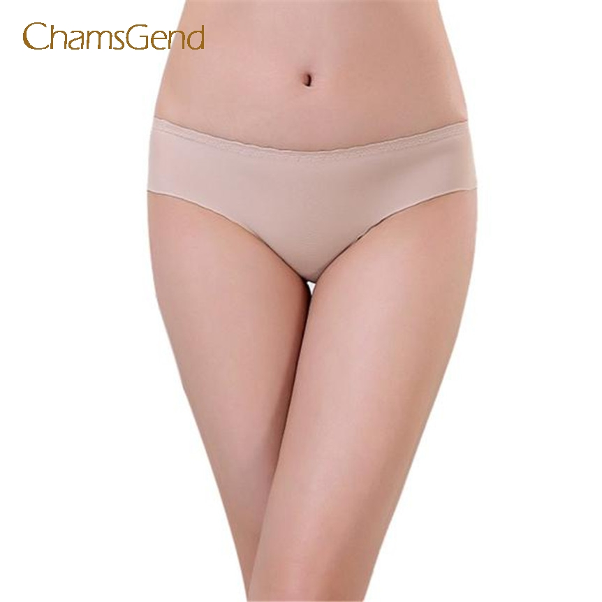 Chamsgend Cool beener Women Invisible Underwear Spandex Seamless Crotch nov22