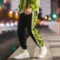 Loose Jogger Pants Men Fitness Cotton Sweatpants Hip Hop Joggers Japanese Streetwear Trousers Men Clothes 2018 Sweat Pants Na105