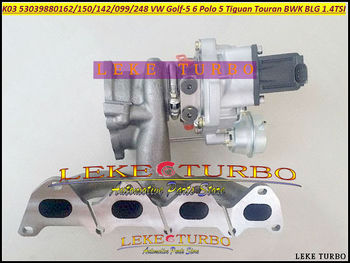 Livraison gratuite K03 53039700248 53039700162 53039700150 53039700099 Turbo pour VW Golf 5 6 Polo Scirocco Tiguan Touran BWK BLG 1.4L TSI