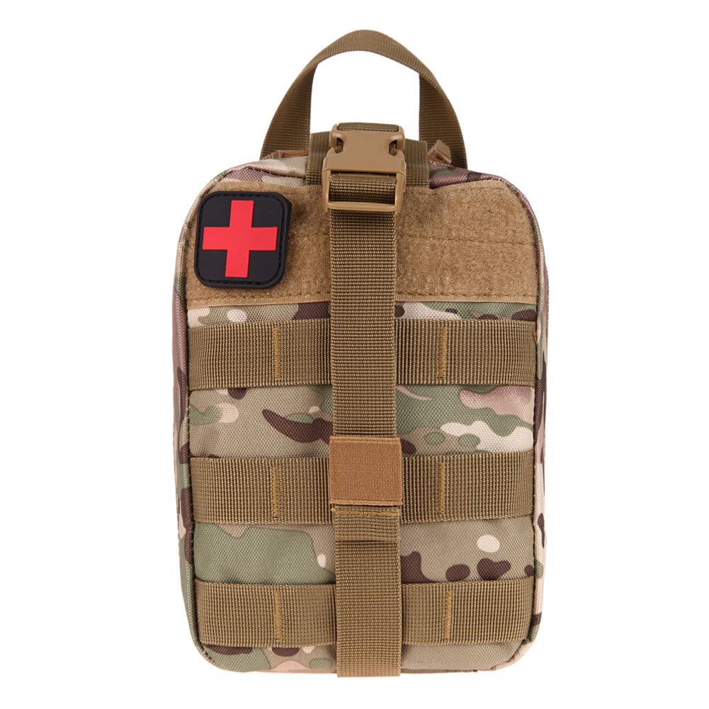 Durable Medical First Aid Kit Bag Molle Medical Cover Outdoor Emergency Package Travel Kit Bag Utility Hunting Outdoor Bags