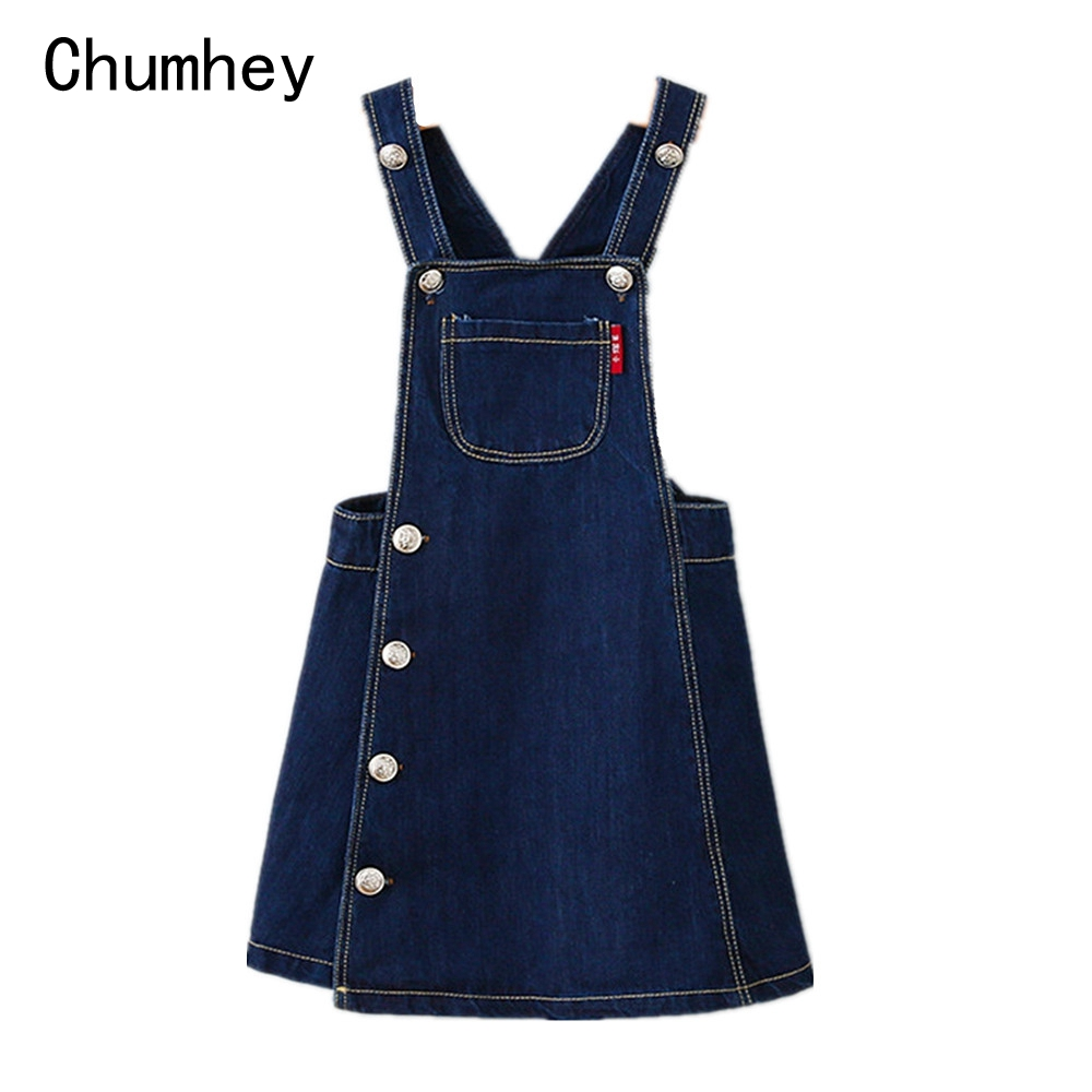 3-8T Girls Dress baby Girls Clothes Toddler Jeans Dress Summer Straps Denim Overalls Casual Mini Kids Clothing  4 5 6 7 distrressed girls dress summer 2016 new arrival pink ripped denim dress for kids sleeveless solid casual girls overalls dress