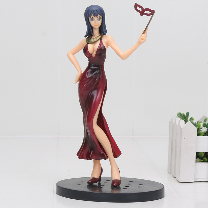 18cm Anime One Piece OP Nico Dress Ver DX Collection PVC Action Model Brinquedos Figurals Gift image