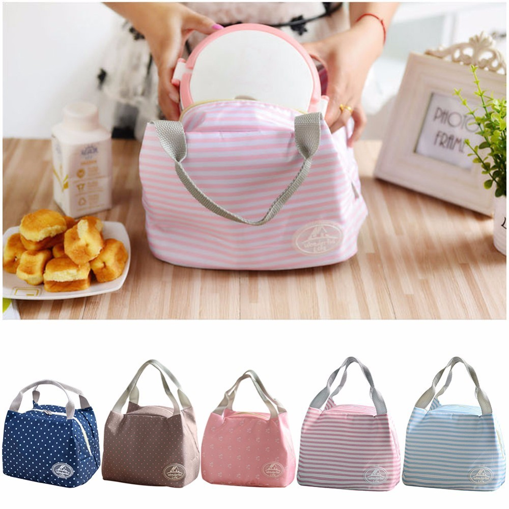 Portable Lunch Bag Cooler Bag Thermal Insulation Bags Travel Picnic Food Lunch box bag for Women Girls Kids Adults