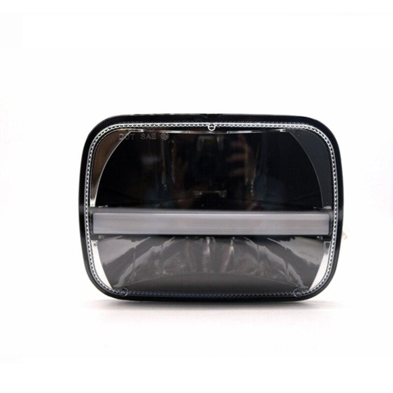 TNOOG 7 x 5 7 x 6 LED Rectangular Headlight For Jeep Wrangler YJ Cherokee XJ