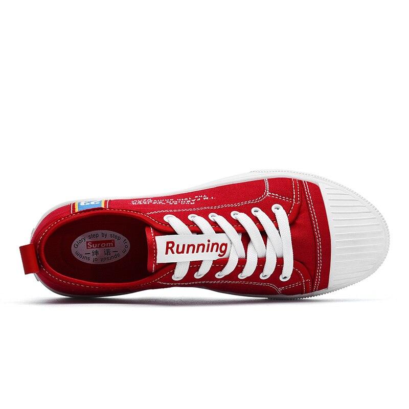 SUROM hombres zapatos vulcanizados zapatos de moda Zapatillas de ...