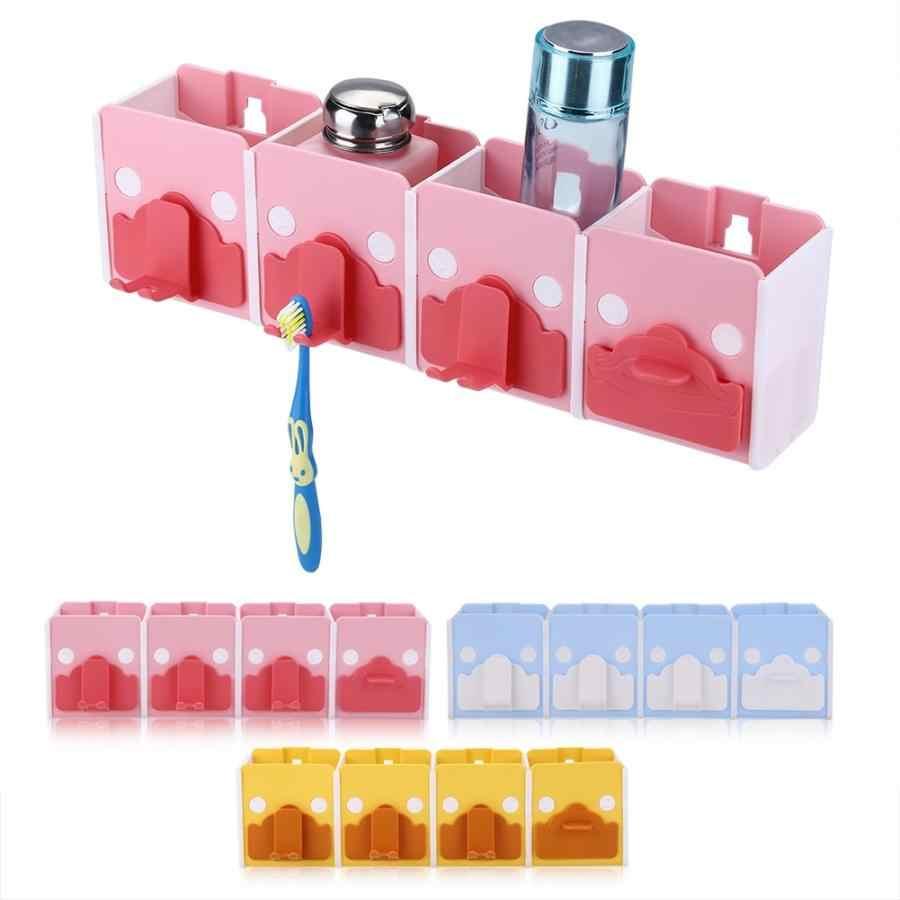 Pasta do zębów wielofunkcyjny do montażu na ścianie łazienka szczoteczka do zębów pasta do zębów kubek stojak stojak do przechowywania automatyczne