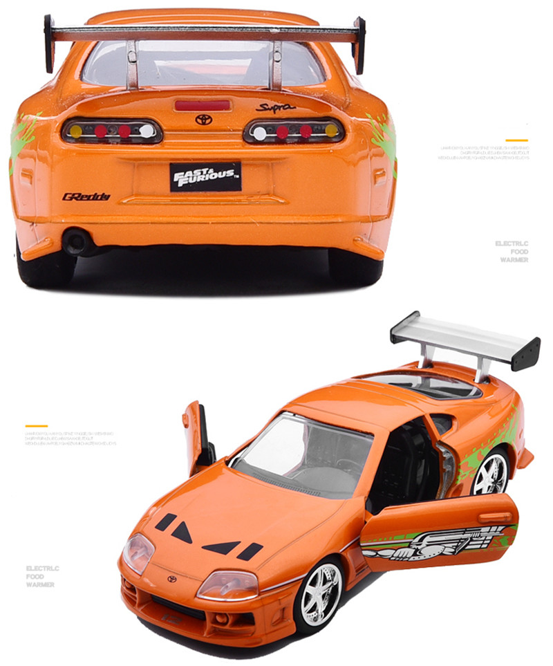 1: 32 advanced alloy car models,high simulation 1995 SUPRA vehicles model,metal diecasts,toy vehicles,free shipping