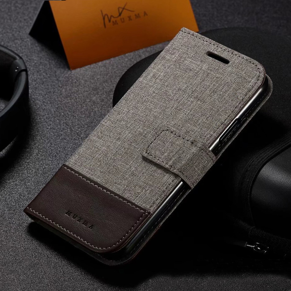 Tikitaka Wallet <font><b>Case</b></font> For <font><b>Samsung</b></font> Note 9 S7 S7 <font><b>Edge</b></font> Kickstand Business Cloth Leather <font><b>Cases</b></font> For <font><b>Samsung</b></font> Note8 9 S8 S9 Plus Cover image