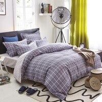 Funda Nordica Algodon Cotton Plaid Duvet Cover Bedclothes Twin Full Queen King Quilt Cover Bed Linen Housse De Couette