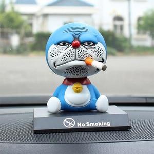 11cm shaking head Doraemon toy