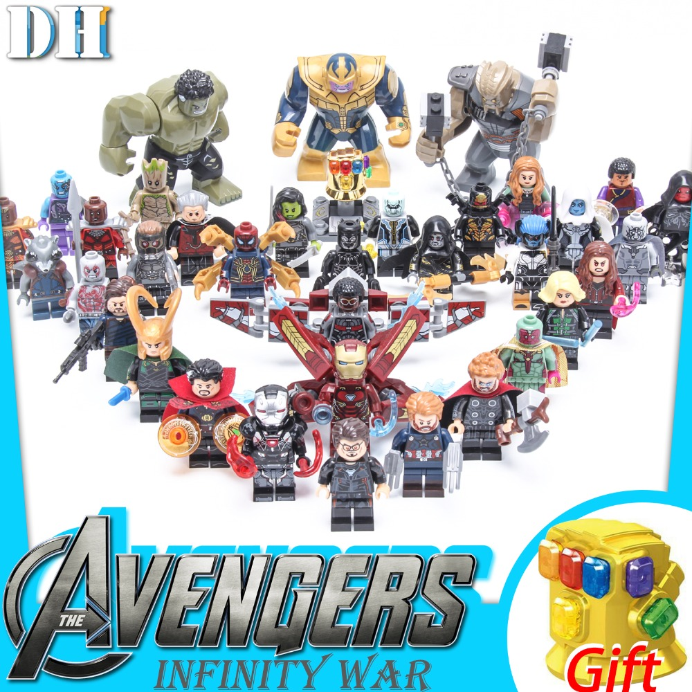 building blocks Assassin 39 s Creed Seven Dragon Ball Avengers 3 New Infinite War Iron Man Digital Children 39 s Toys Gift in Blocks from Toys amp Hobbies
