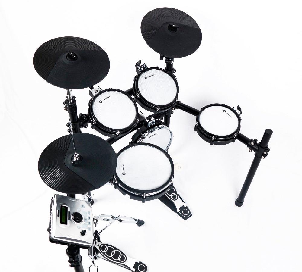 Limón Thor550 de malla de la batería electrónica Kit de percusión etapa favores de fiesta de cumpleaños, regalo de Navidad, regalo - 4