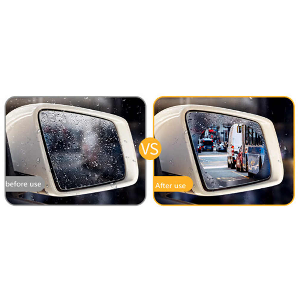 2 piezas espejo retrovisor de coche a prueba de agua y anti-niebla película para BMW E46 E39 E38 E90 E60 E36 F30 f30 E34 F10 F20 E92 E38 E91 E53 E70