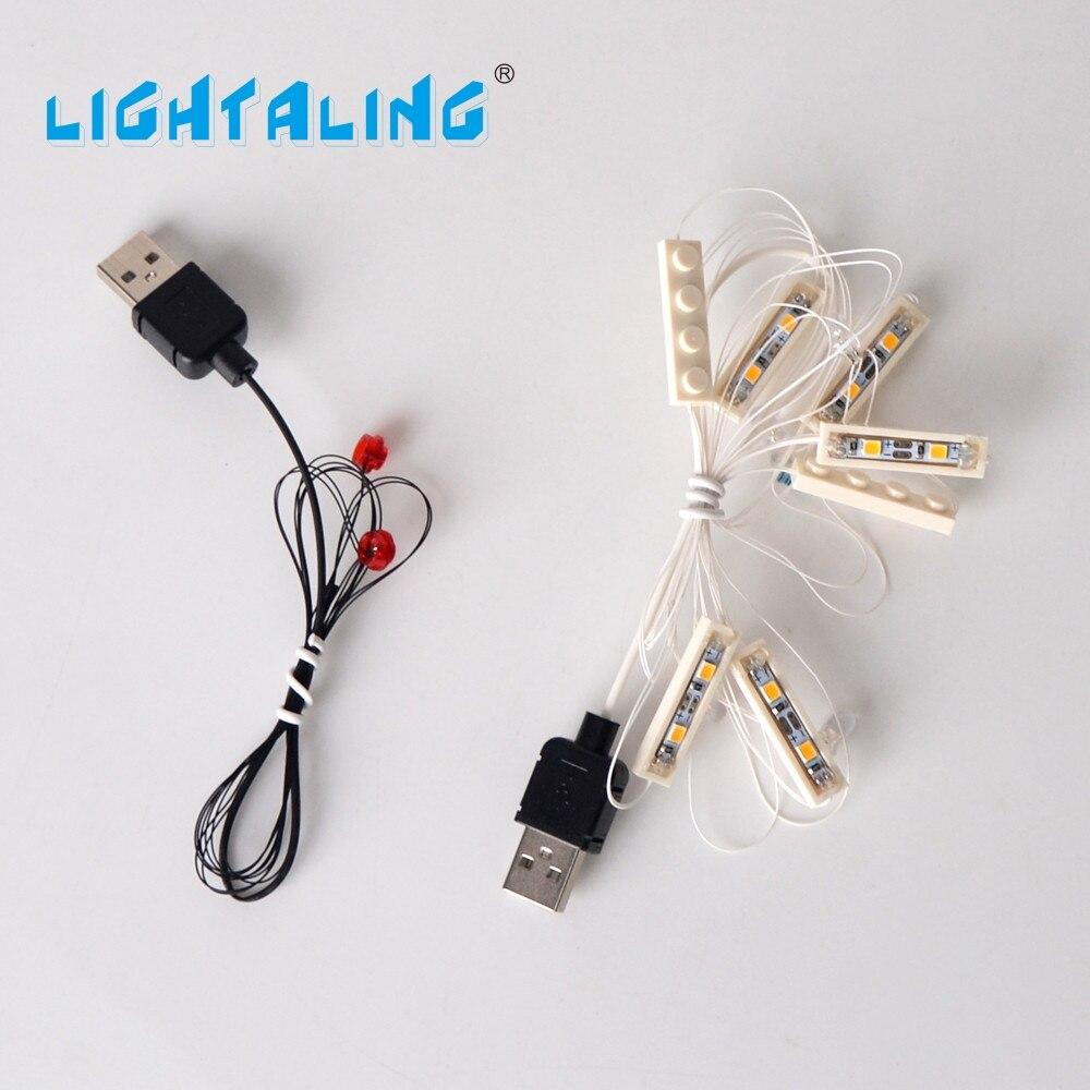 Svjetleće LED svjetlo postavljeno za kompatibilan s poznatim brandom - Izgradnja igračke - Foto 4