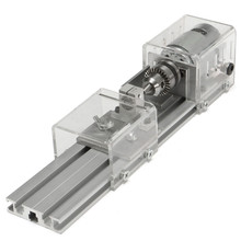 Brand New DC 24V Mini Lathe Beads Machine Woodworking DIY Lathe Polishing Cutting Drill Rotary Tool Standard Set