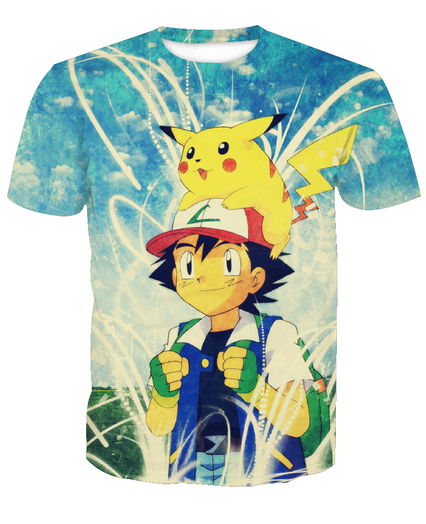 2019-hot-sale-new-fashion-3d-font-b-pokemon-b-font-casual-short-sleeve-t-shirts-custom-made-free-shipping-m-to-6xl-factory-outlet