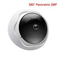 كاميرا ip wifi كاميرا hd 360 درجة بانورامية عين السمكة cctv 2mp wifi كاميرا مراقبة للرؤية الليلية كشف الحركة