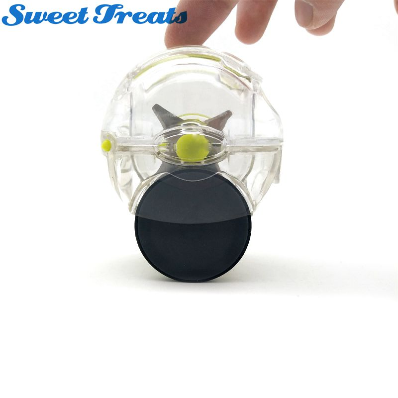 Sweettreats Garlic Rolling Choppers Crusher Peelers Stir Twist Novelty Cooking Tools,Mini Chopper Mincer Slicer Dicer Grater
