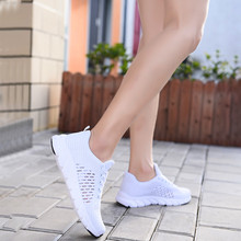 Mesh Women Casual Shoes Lace-up Summer L