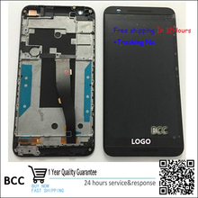 For HTC One E9s E9sw 100% Original New touch screen digitizer + LCD display with frame  Black /White/gold+Tracking Code