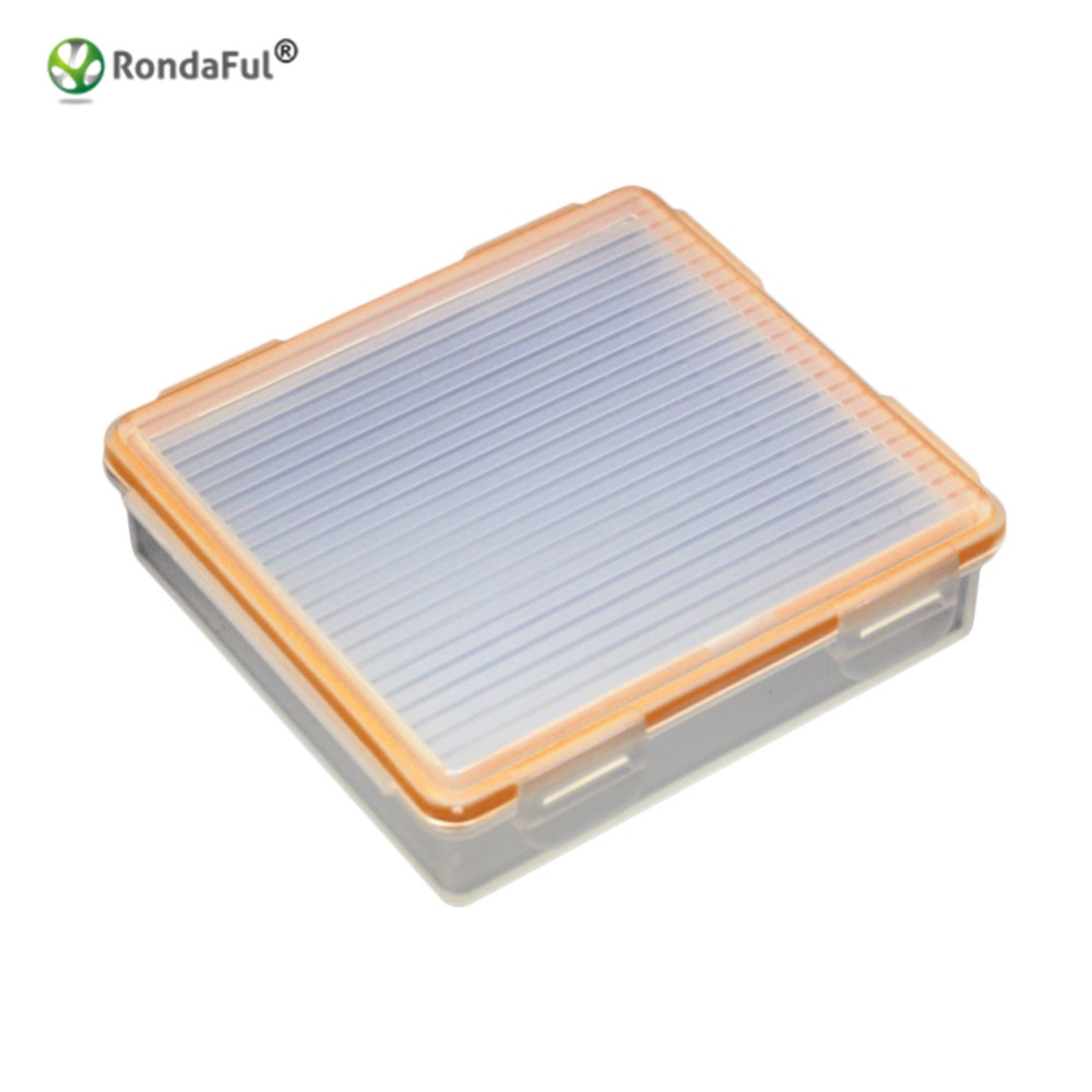 1 Piece Waterproof 18650 Battery Case for 4 X 18650 Battery Translucent Storage Box Holder Case Environmental Friendly