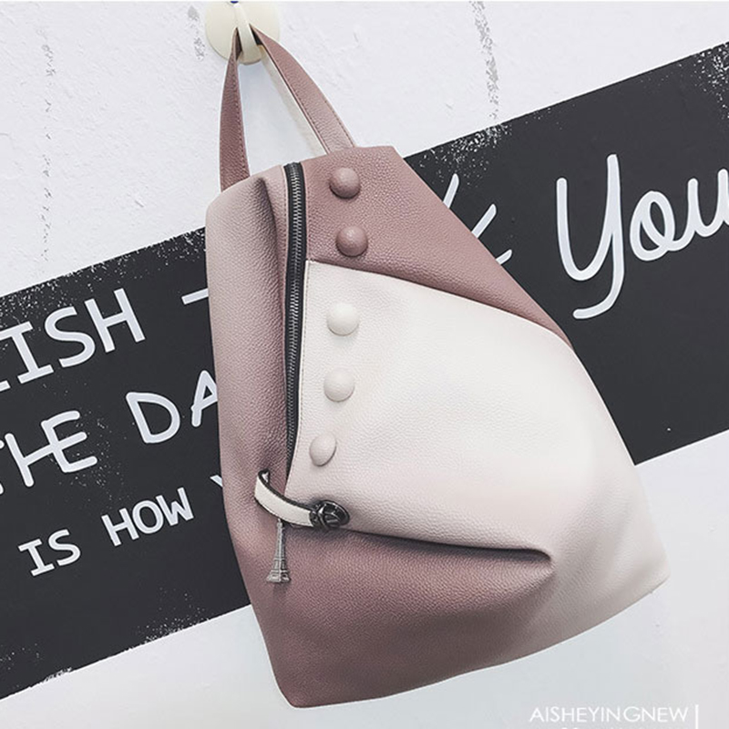 Fashion Women Backpack 2018 PU Leather School Bags For Teenager Girls Young Lady Backpacks Big Capacity Casual Female Daypacks цена и фото
