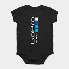 Baby Onesie Baby Bodysuits kid t shirt Go Pro GoPro Helmet Hero Sportser Tees Size Great Quality Funny Man Cotton Stylish(China)