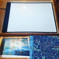 МГД A4 светодио дный художник тонкий арт плесень доска для рисования световой короб таблицы отслеживания коврик Diy алмаз вышивка ЕС/Великобр