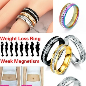 Magnetic Weight Loss Slimming Ring String Stimulating Acupoints Gallstone Ring Fitness Reduce Weight Ring Health Care Rings