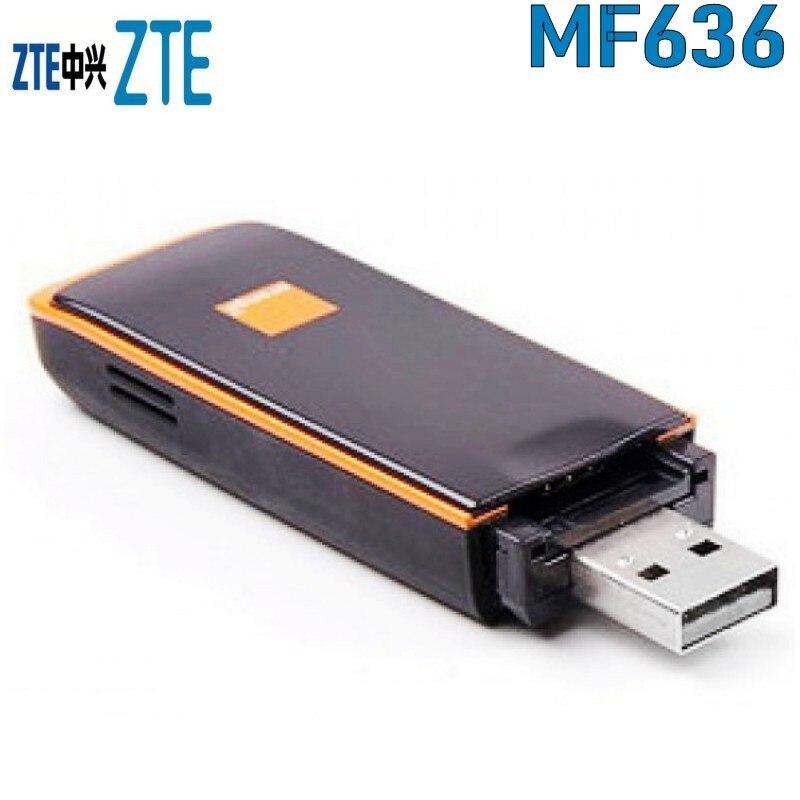 Hot Cheaper Unlocked ZTE MF636 3G USB Modem 3G 7 2 Mb/s