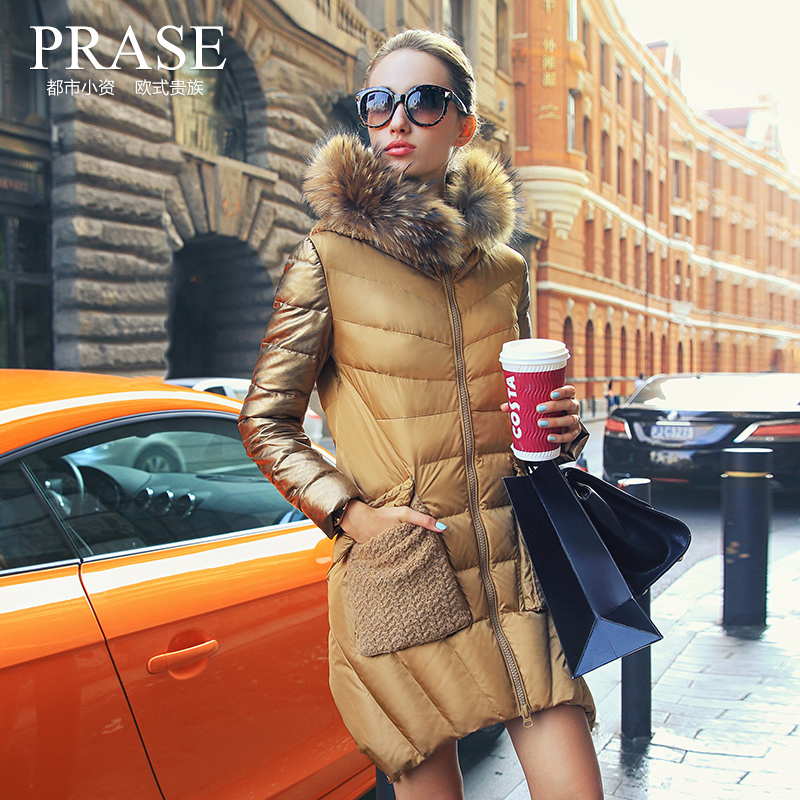2016 new hot winter Thicken Warm woman Down jacket Coat Parkas Outerwear Hooded Raccoon Fur collar  long plus size 2XXL cloak 2016 new hot winter thicken warm woman down jacket coat parkas outerwear hooded raccoon fur collar long plus size straight cold