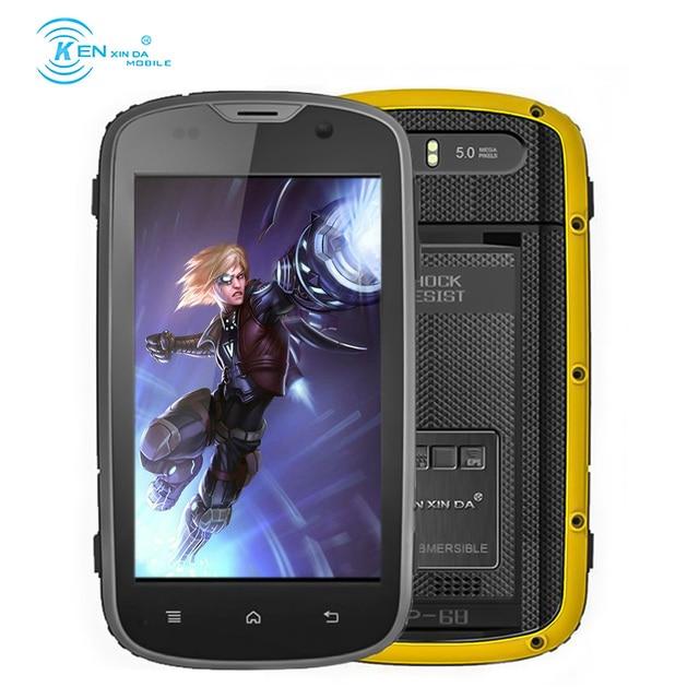 Unlock Kenxinda Proofing W5 4.0 inch Andriod MTK6735 Quad Core 1GB +8GB 1280X720 Smart Phone LTE Cell Phone