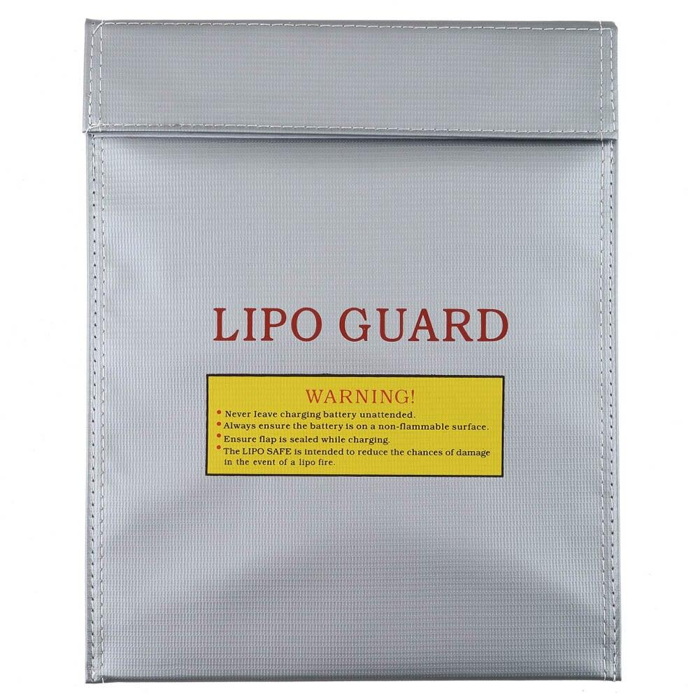 RC LiPo Li-Po Battery Fireproof Safety Guard Safe Bag Charging Sack -17 NSV775
