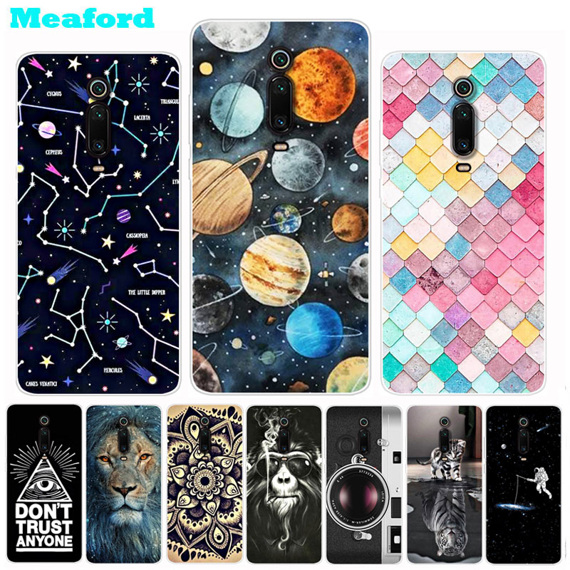 For Xiaomi Mi 9T Case Mi9T Pro Cute Patterned Soft Silicone Slim Back Cover For Xiomi Xiaomi Mi 9T Pro 9 T 9TPro Phone Cases image