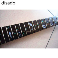 disado 24 Frets inlay Tree of Life maple Electric Guitar Neck Guitar accessories Parts Can be customized Musical instrument