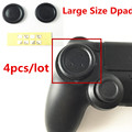 4pcs Large Size PS Flat Button Round D-Pad Cross Button Direction Key caps Covers for Sony Playstation 4 PS4 Controller Gamepad