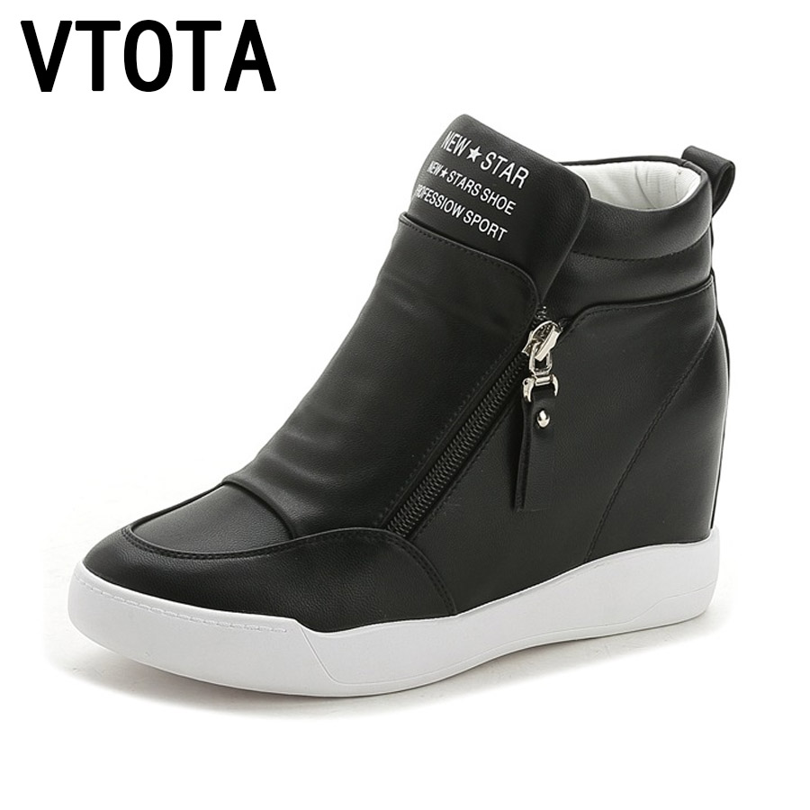 где купить VTOTA  High Heels Shoes Woman Fashion Fringe Women Sneakers Loafers Platform Shoes Zapatos Mujer Shoes Female  Autumn Shoes дешево