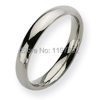 classic comfort fit 3mm custom USA size 5 to 15 womens fashion jewelry titanium rings wedding band