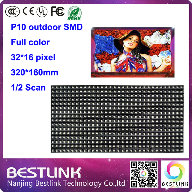 p10 outdoor full color led display screen with p10 outdoor smd rgb led module 2s p10 led video wall led advertising billboard