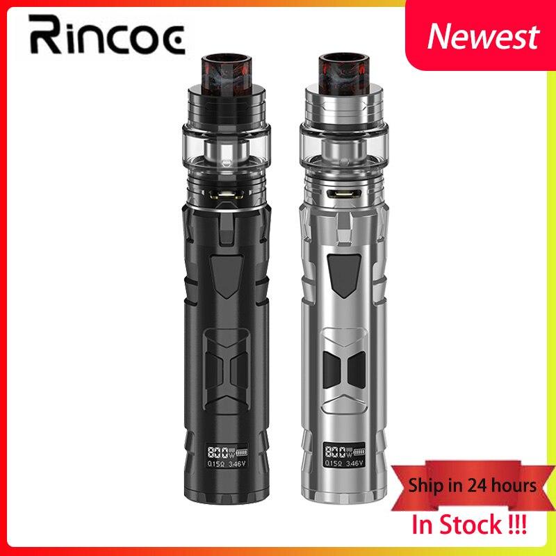 Electronic cigarette Rincoe Mechman 80W Mesh Kit E cigarette mod 4 5ML Mesh tank Coil mesh