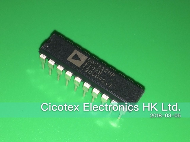 5 قطعة/الوحدة DAC312HP DIP 20 IC DAC 12BIT HS MULT 20 DIP DAC312 DAC312HPZ