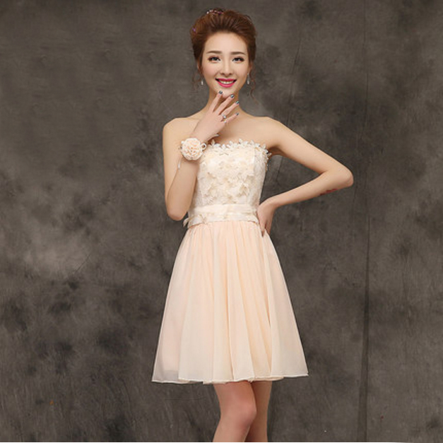 Popular Champagne Party Dress-Buy Cheap Champagne Party Dress lots ...