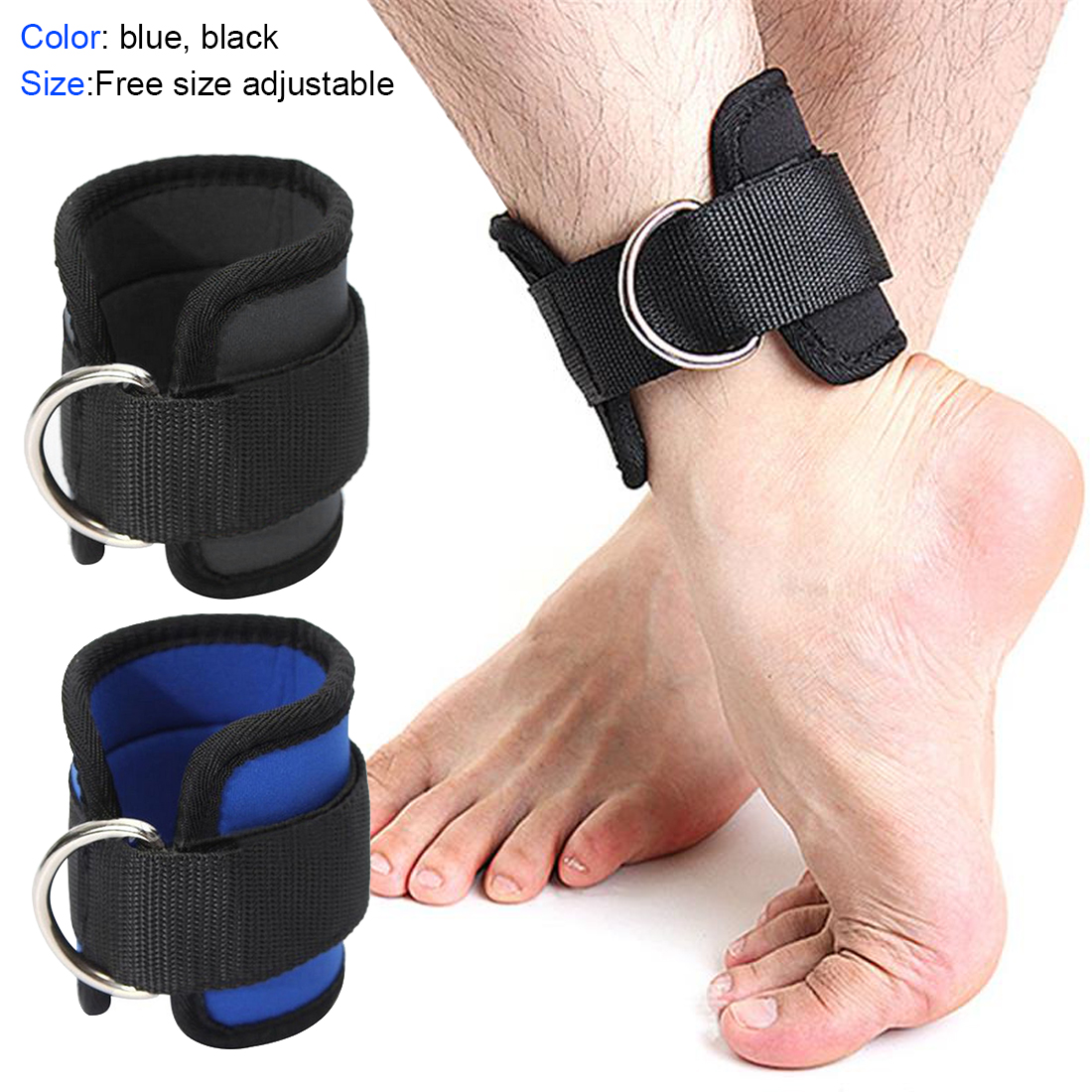 1Pcs Ankle Strap Wrist Support Gym Band Leg Strength Training  Weight Bearing