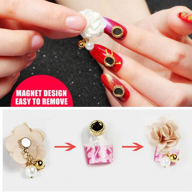 10pcs/lot Gel varnish stickers for nails nail art decorations ...