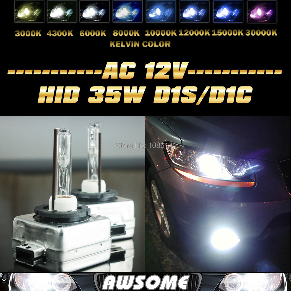 2x D1S Bulbs 35W Xenon Hid Ice Blue 8000K Low Beam For Ford Focus MK2 2004-2011