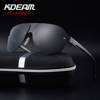 KDEAM Sports Sunglasses Men Polarized UV Protection Sun Glasses Fashion High Quality Brand Designer Cool Driving
