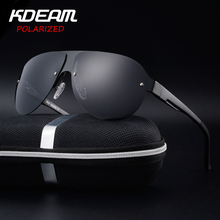 KDEAM Exercise Sunglasses Men Polarized UV Protection Sun Glasses fashion High Quality Brand Designer Cool Driving Eyewear Pilot