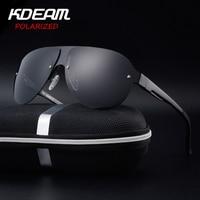KDEAM Sports Sunglasses Men Polarized UV Protection Sun Glasses Fashion High Quality Brand Designer Cool Driving